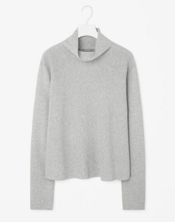 Cotton jumper, 48 euro. Light enough for Spring, and great with colours and neutrals
