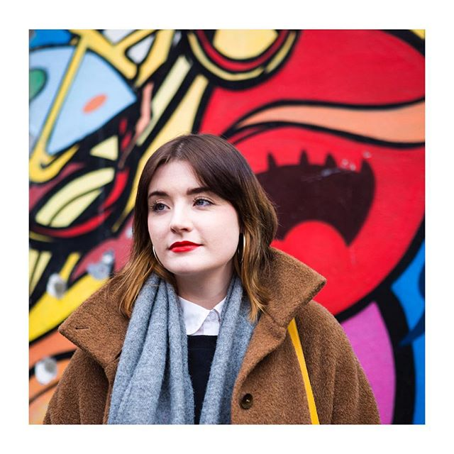 Going back through some old interview questions for #inspo and @claire_una is brightening up my Monday. Still in love with these photos ❤️💛💚💙💜 new one coming soon!  #thewelllovedwardrobe #styleblog #mondaymotivation #dublin #streetphotography #colours