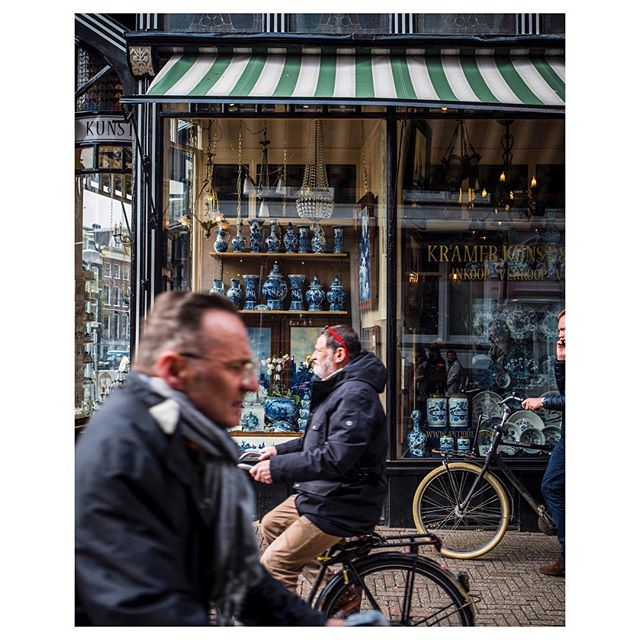 Rush hour in Amsterdam. Planning a post on our trip to The Netherlands soon, Utrecht is a great city for a little getaway!  #amsterdam #styleblog #travelphotography #thewelllovedwardrobe #cyclists #feelinglazy