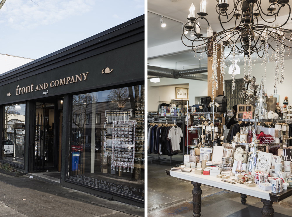 Front & Company store Vancouver