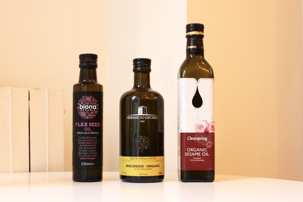My favourite oils to use unheated.