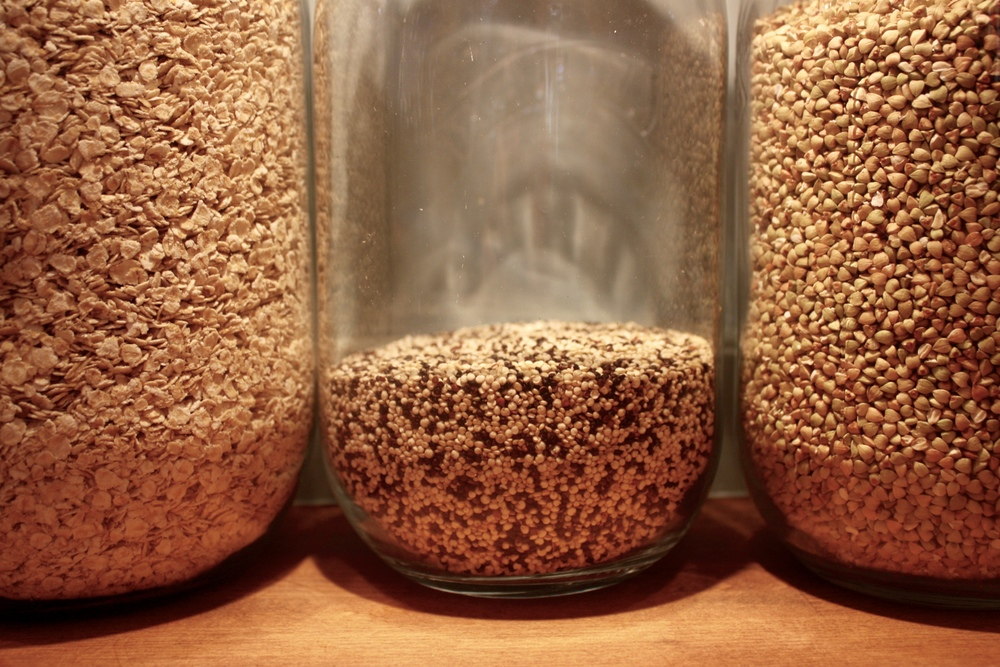 Fiberous and versatile carbs: oats, quinoa and buckwheat