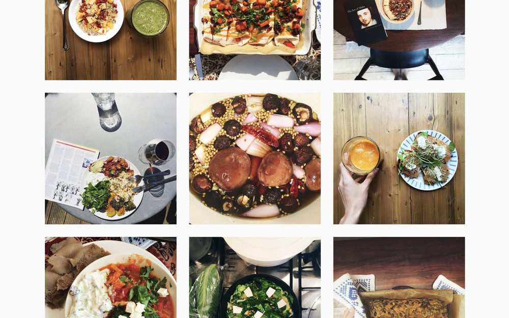 By following the Instagram hashtag #lisecooks you get lots of (mostly) vegan inspiration from my Instagram!