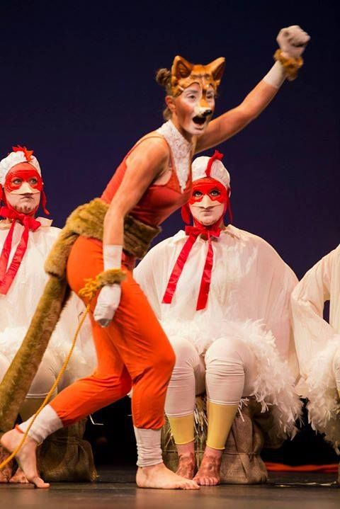 The Cunning Little Vixen  Janacek  Queensland Conservatorium  © Elise Searson