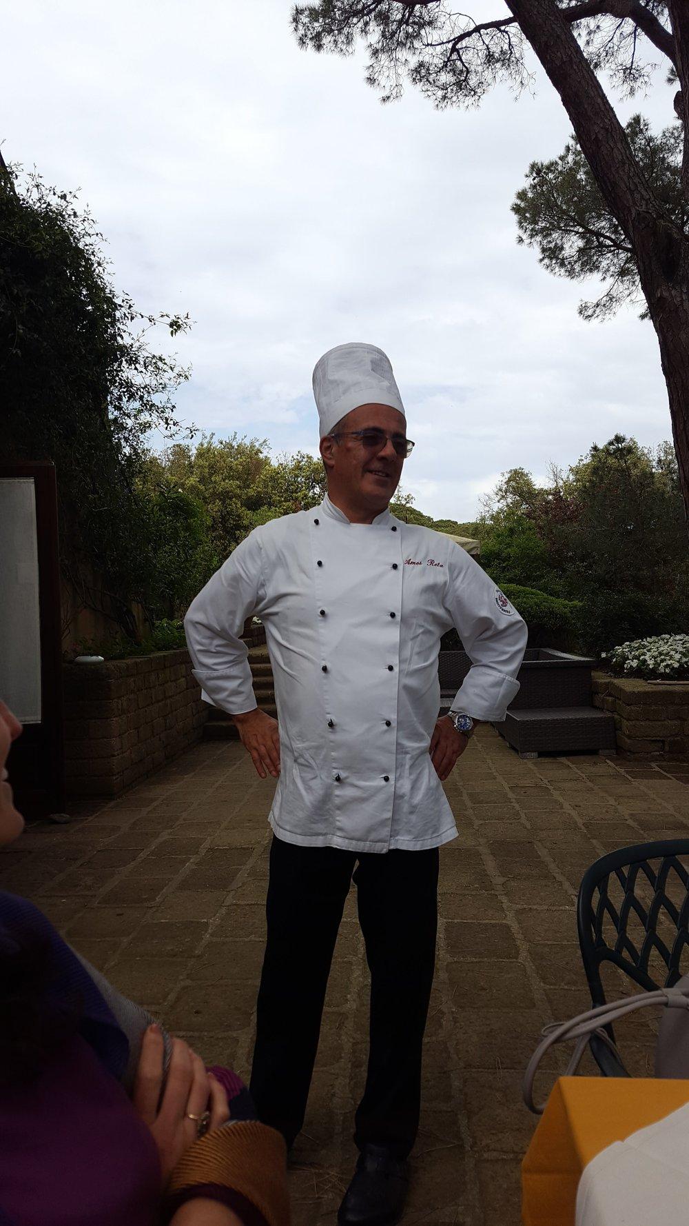Chef at Tenuta delle Ripalte