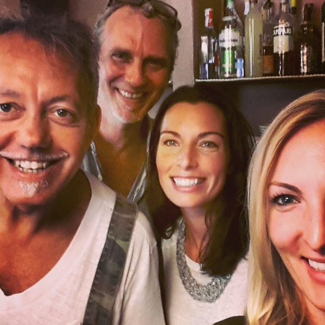 Riccardo, Piero, My, Sally (me)