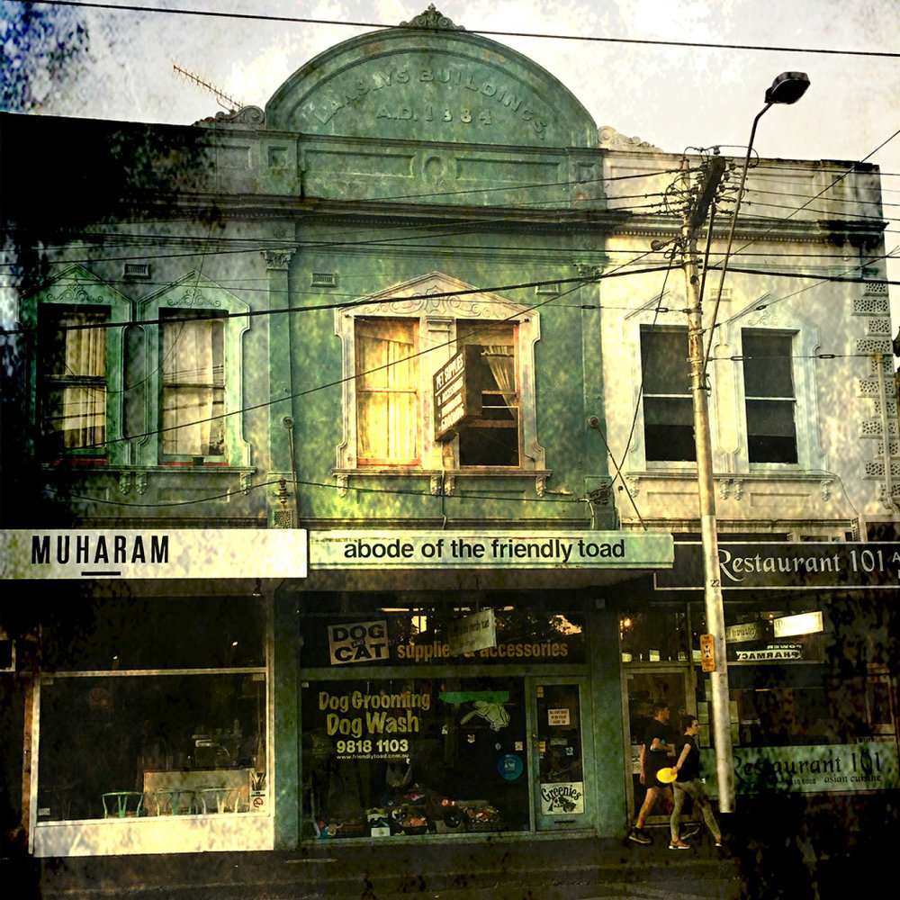 Up The Hill In Old Melbourne by Lorraine Buckley  Runner Up Colour Prints Set Subject - Architecture