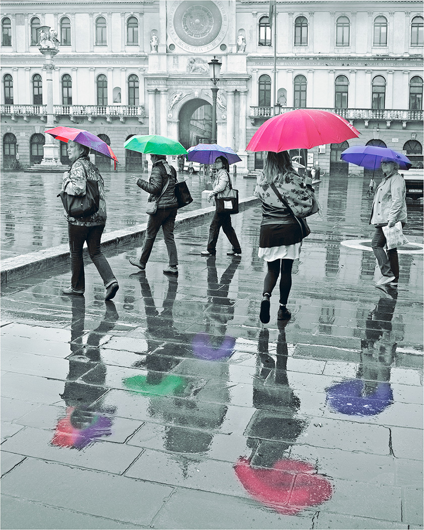 Time For Rain by Mark Whitwell  Runner Up Jean Farrall Trophy for Street Photography - Prints