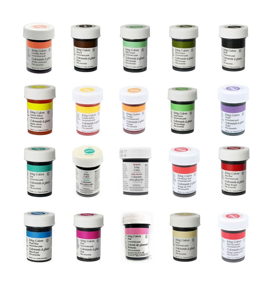 Gel Food Coloring Wilton Images - Triamterene.us - triamterene.us