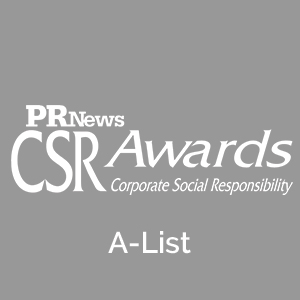 CSR A-List Award 7 years in a row:  2018  2017  2016  2015  2014  2013  2012