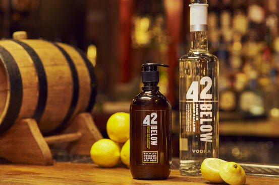 "42BELOW Vodka Brand Says: ""When Life Gives You Lemons, Make Eco Soap"