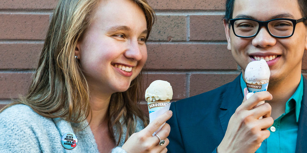 Always Making a Difference   Helping Ben & Jerry's Save Our Swirled →