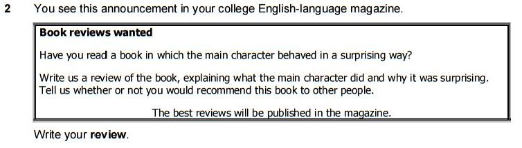 how to write a review for fce fce exam tips my fellow college students what does that mean about the tone it means i can be on the informal side of neutral you know serious but friendly