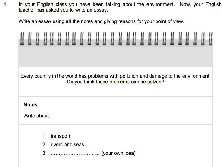 How To Write An Essay For Fce  Fce Exam Tips Heres A Task From Cambridge First