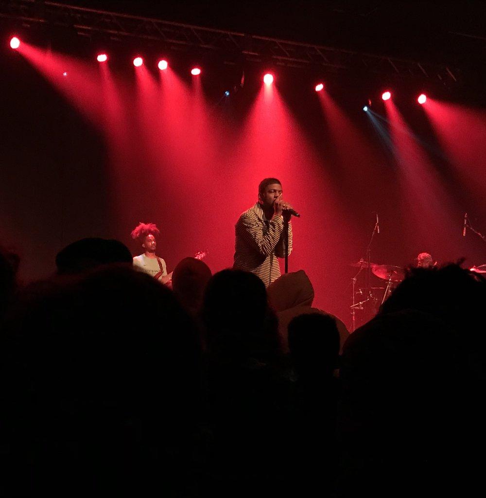 Mick Jenkins - Pieces of a Man Tour - iPhone