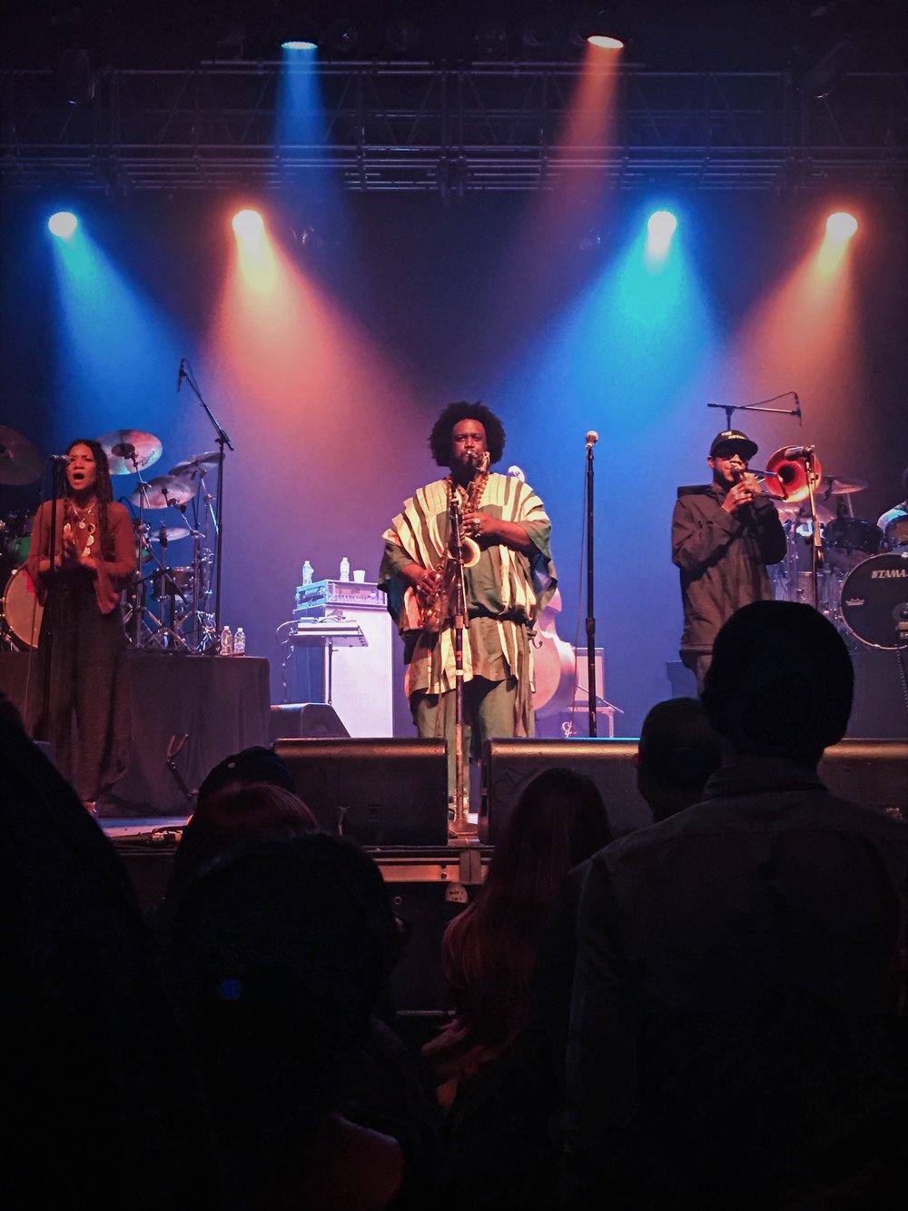 Kamasi Washington - Heaven and Earth Tour - iPhone