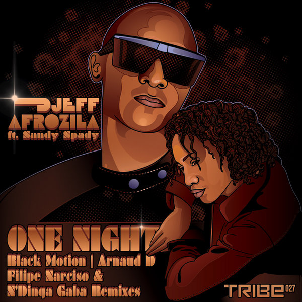 One Night  (inc. Black Motion, Arnaud D, N'Dinga Gaba & Filipe Narciso Remixes) Djeff, Sandy Spady