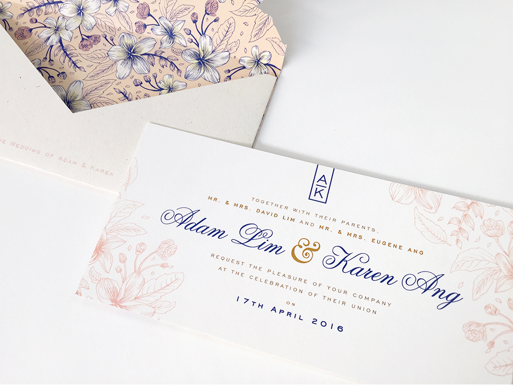 Wedding Invitation: Illustration + Design