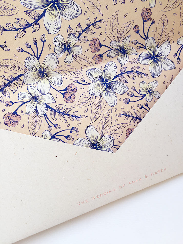 Wedding Invitation: Illustration + Design