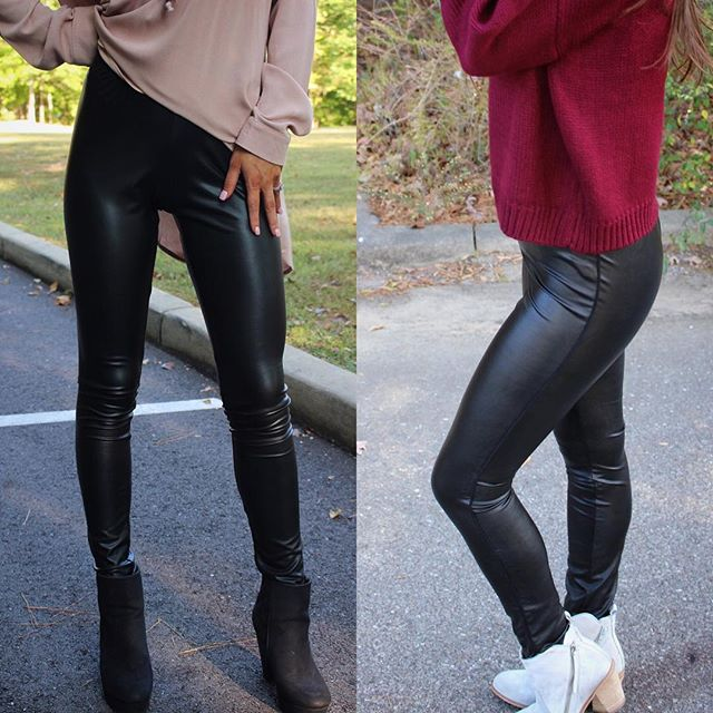 Leather RESTOCKED! The left pair is a bit thinner & $26, the right pair is thicker $36 •• both can be found under new arrivals!