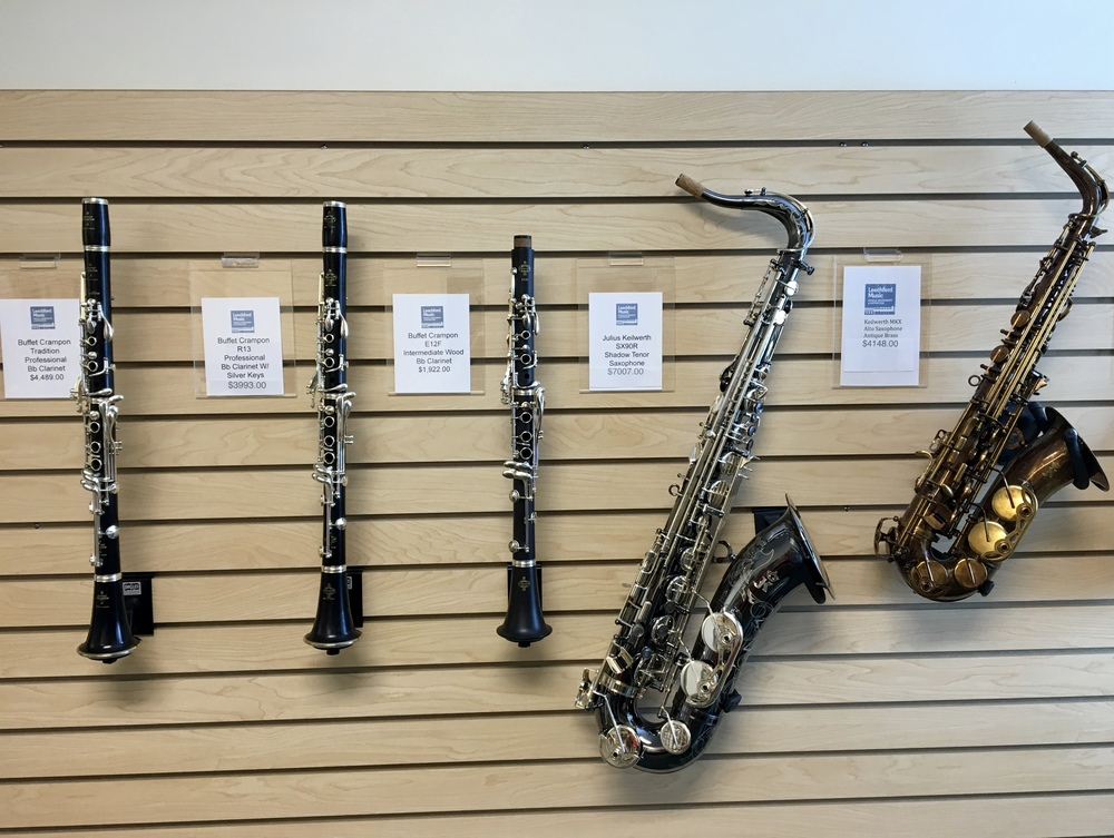 NEW AND USED MUSICAL INSTRUMENTS