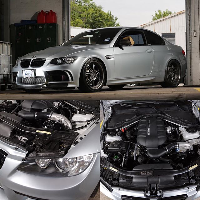 Always a pleasure to work on @javiertorres4470 's beautiful M3--especially when it involves installing an @esstuning 625 supercharger. We appreciate you, brother! ************************************************* @esstuning #mperformance #bmw #e92 #bmwm3 @texasmclub #carsofinstagram #instacar @vorsteiner #600hp