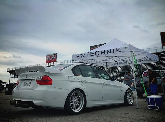 It's about to go down. Alamo Drift Series Round 2 @saraceway . @dpukc about to get rowdy in the M*TECHNIK 335i. **************************************************** @bcracingna @activeautowerke @burger_tuning @irpgermany #driftcar #instacars #instacar #carsofinstagram #drift #e90 #bmw #bmw335i #boost #boostedlife #bmwmotorsport #bmwgram