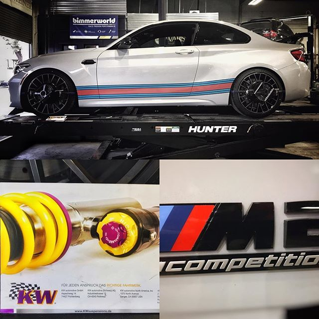 More M2 Comp Package... ****************************************************** @kw_suspension @martiniracing @bmw #bmw #bmwm2 #bmwmotorsport #bmwmpower #carsofinstagram #instacar #m2 #competitionpackage #martiniracing #trackcar #motorsport #racingcars #racecar