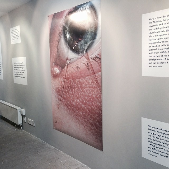 A shot of the exhibition put on by the Royal College of Art to support the launch of the publication.