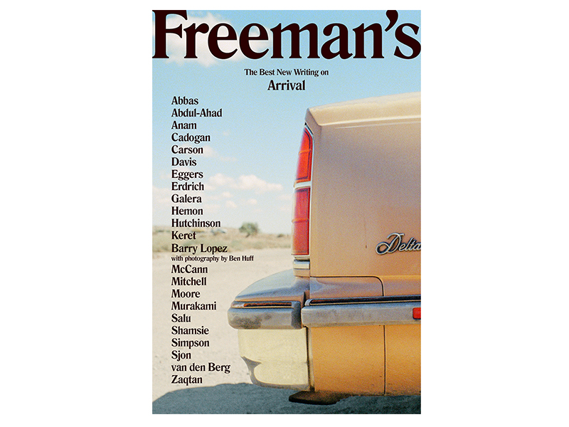 The cover of Freeman's Journal Issue 1. Photo © Stefano Galli, art direction by SALU.io