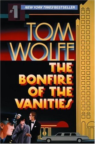 coverspy: The Bonfire of the Vanities, Tom Wolfe (M, 20s, mint green T, walking fast, book in hand, 51st Street station)