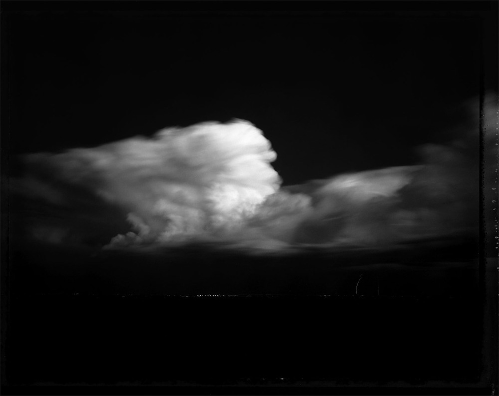 nearlya :      Mark Klett   Night Storm