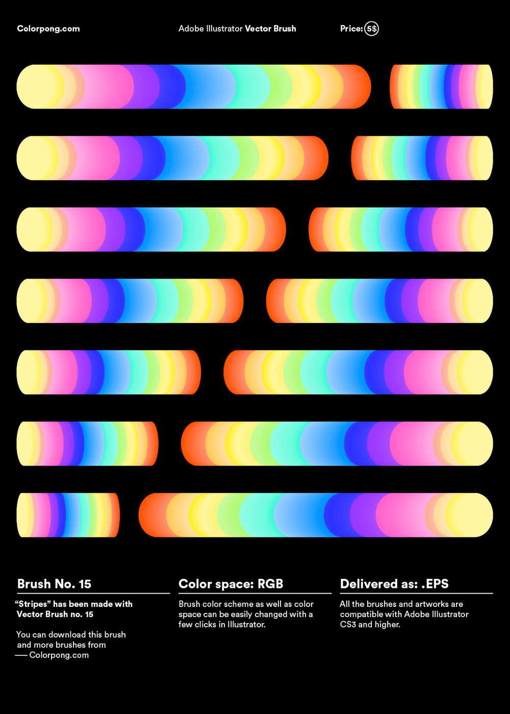 visualgraphc :      Colorpong Vector Brushes