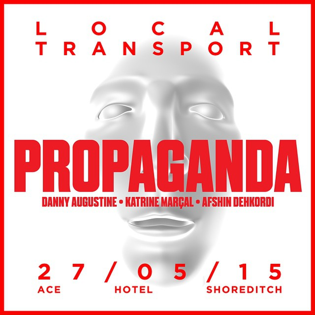 #LocalTransport returns with our own #Propaganda ! #selfies #money and #indoctrination with @dannyanguish #KatrineMarcal & #AfshinDehkordi (see link in bio) tickets available from #Biletto #acehotel #shoreditch #art #artists #liveperformance  (at ace hotel)