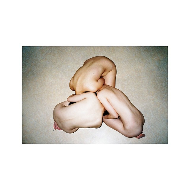 Check out Ren Hang's work over on @americansuburbx #nude #china #photography #symmetry #human #nature #ASX #RenHang #skin (at Berlin, Germany)