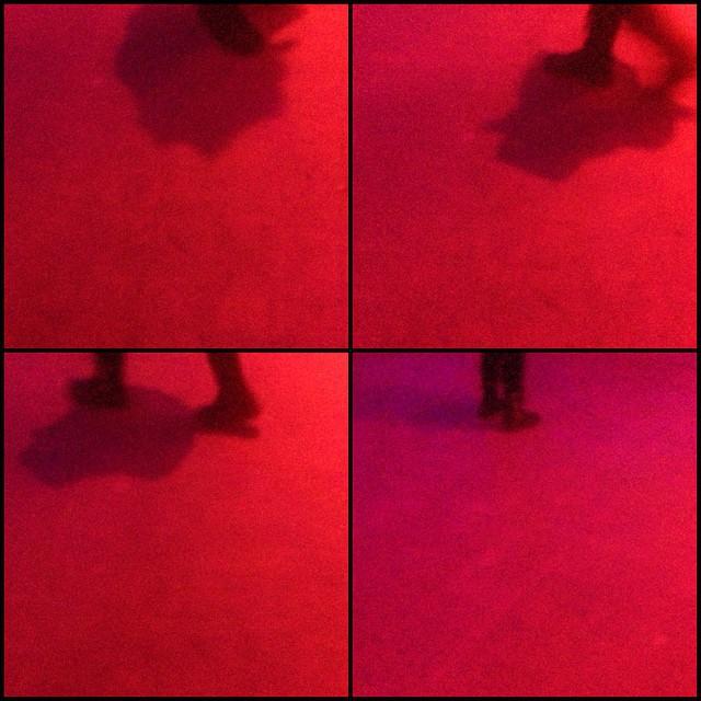 #Kraftwerkberlin #thelongnow #red #pink #night #drone #ambient #evasion (at Kraftwerk Berlin)