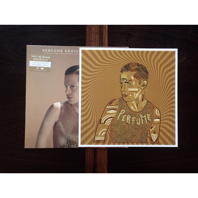 Very nice surprise from the chaps @vinylmeplease #perfumegenius limited edition coloured #vinyl with #artwork by Nick Van Hofwegen. Thanks guys! #vinyl #vinylme  (at Berlin Prenzlauer Berg)