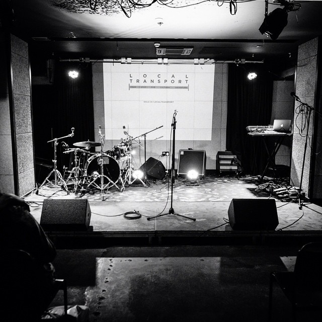 #latergram - The stage was set - photos by wonderful Camille Blake from our first #LocalTransport event at the @acehotel in #shoreditch. See the above link 👆 for more #livemusic #liveart #liveperformance (at Ace Hotel London Shoreditch)