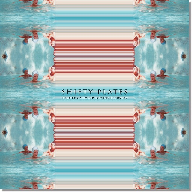Fictitious #album #art for #fashion and art #Magazine 'Grey' in 2012 #water #symmetry #music #vinylart #vinyl #glitchart #pixels #pixelart #albumart #albumcover #graphicart #illustration #graphicdesign #photography #swimmers #mirror #abstract #blue #swimmingpool #artist #SALUarchive #coverart #music