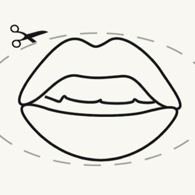 A sample from our #DIY #womens #magazine for Granta's #feminism issue in 2011. We asked why the magazine formula is never challenged or changed… #illustration #mouth #lips #pout #fashionmagazine #female #magazinecover #culture #books #booklovers #literature #womensmagazines #artdirection #graphicdesign #SALU #SALUarchive