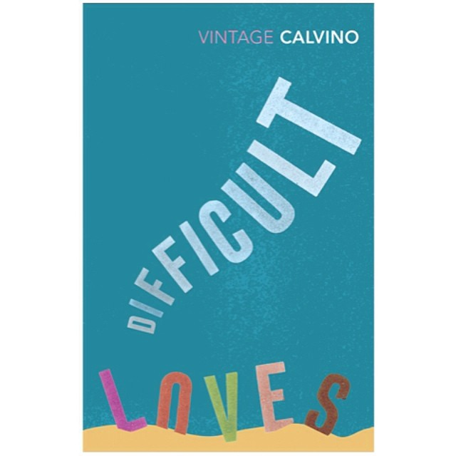 Difficult #Loves from our #typographic #bookcover series for #ItaloCalvino 2008 #typography #graphicdesign #sea #sealife #seabed #nature #colours #books #booklovers #writers #letterpress #literature