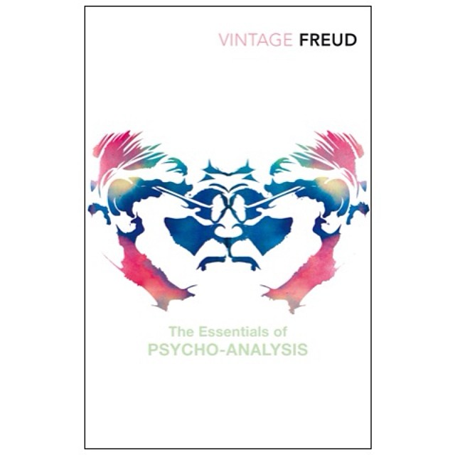 #ID #Ego & #Superego. A cover we created for Essentials of #Psychoanalysis by #Sigmund #Freud for #vintageclassics in 2006 #rorshach #illustration #gouache #design #graphicdesign #portrait #bookcoverdesign #bookdesign