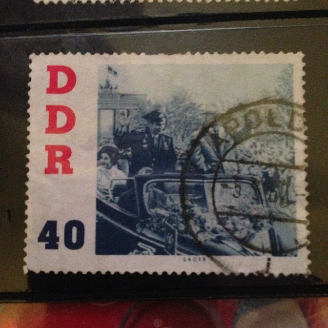 #DDR #stamps #germany #berlin
