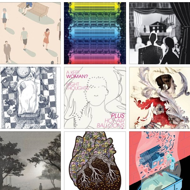 #dropbox #archive @grantamag #illustrations