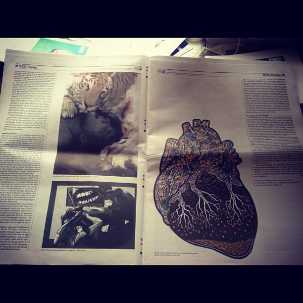 My article on 'taste' in @varoommagazine featuring @matthewgreenn16 @oatmontien @jocabola & others… (Taken with  Instagram )