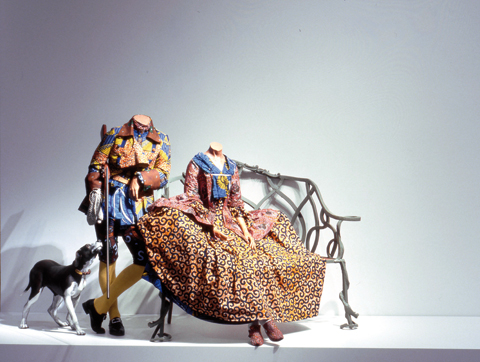 granta :      'Mr and Mrs Andrews Without Their Heads' Yinka Shonibare, MBE from Granta 119: Britain     From Michael Salu's piece on the art for Britain.