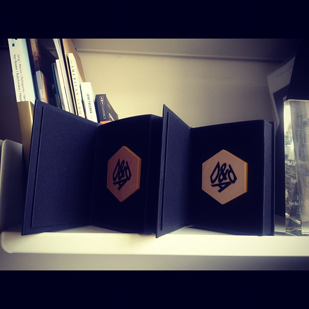 Another @dandad slice just arrived. Maybe we'll soon have enough for an entire pencil… (Taken with  Instagram )