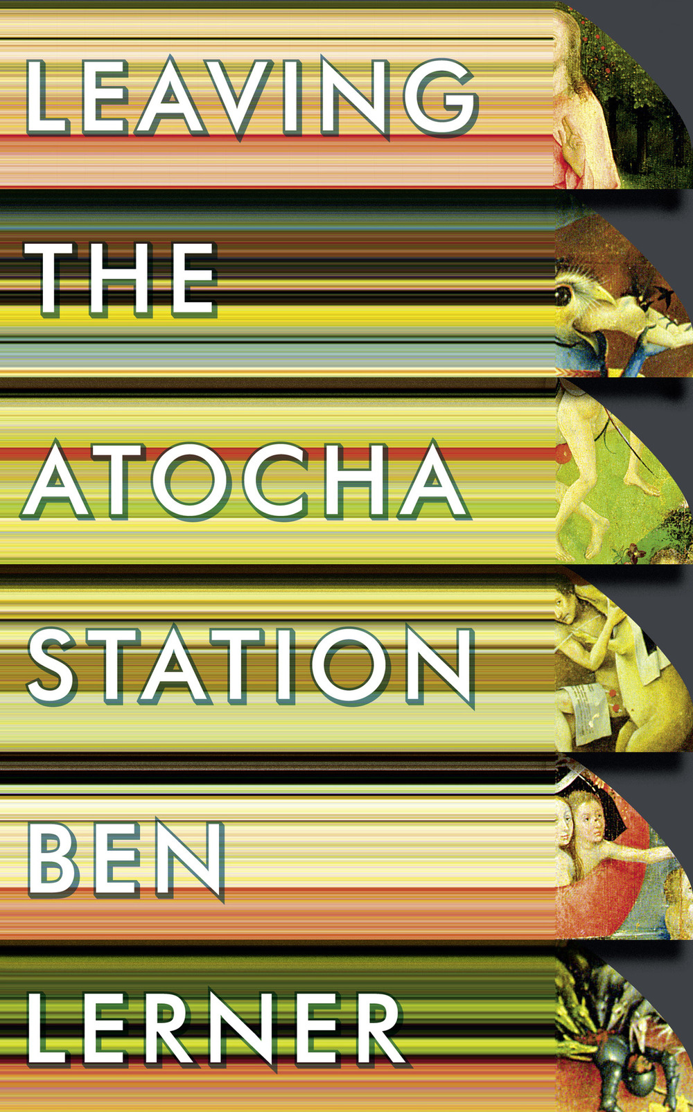 The final #Pixel manic cover for the @GrantaBooks edition of Leaving the Atocha Station. Design by Michael Salu.