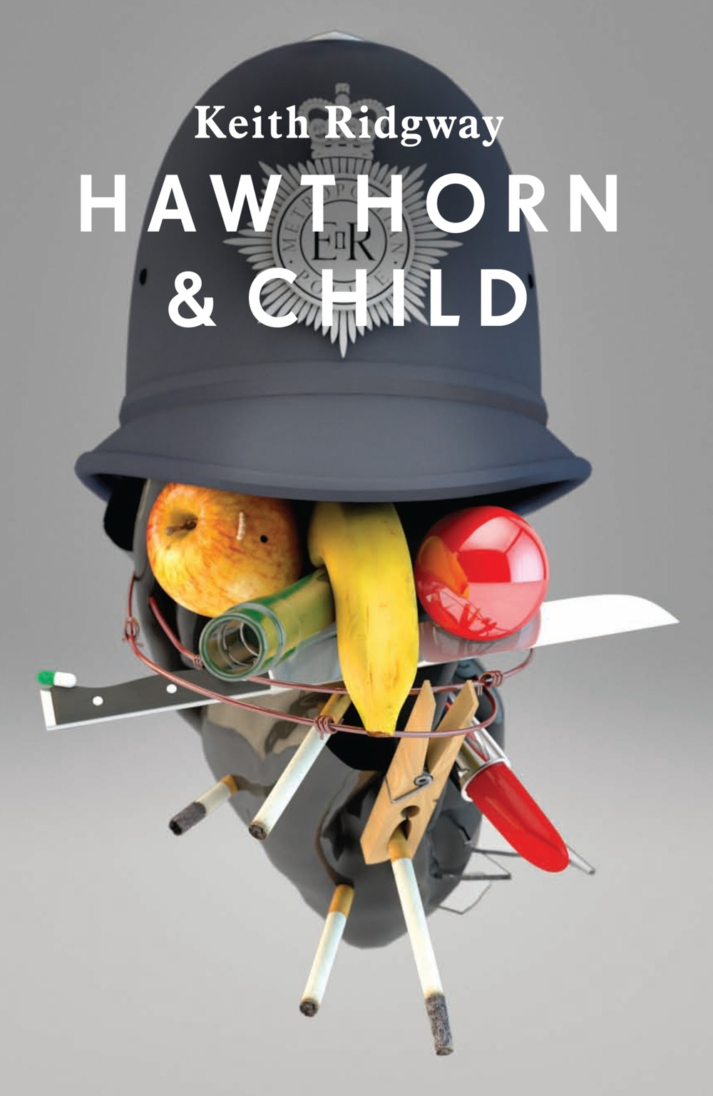 If Max Ernst was let loose on some 3D modelling software, he may have come up with something almost as good as this. Our new compellingly absurd cover by Tom Darracott for @kthrdgwy's very British novel, Hawthorn and Child.