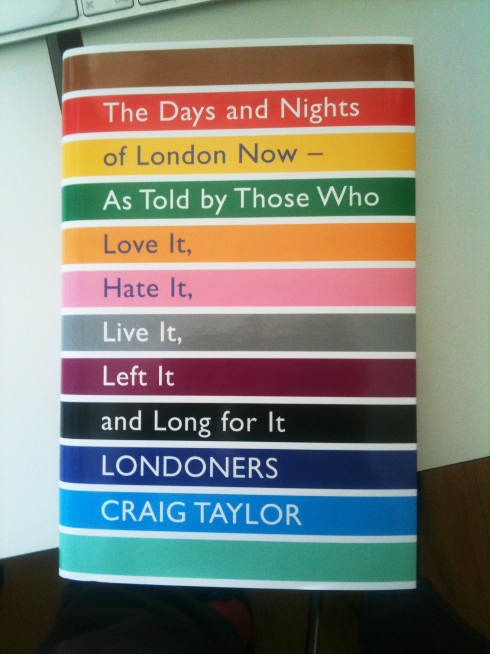 Hot off the Press!! New HB for  Craig Taylor  by the always excellent Murray & Sorrell of  FUEL